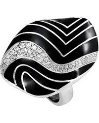 Roberto Coin 18k 0.56 Ct. Tw. Diamond Ring - Black