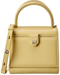Salar Jelly Leather Shoulder Bag - Yellow