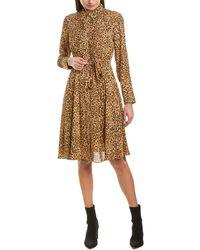 Nanette Lepore Nanette By Nanette Lepore Shirtdress - Brown