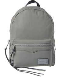 Rebecca Minkoff Medium Zip Backpack - Gray