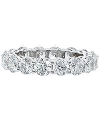 Diana M. Jewels . Fine Jewellery 18k 4.50 Ct. Tw. Diamond Ring - Multicolour