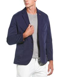 Robert Graham Cape South Tailored Fit Sportscoat - Blue
