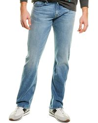 7 For All Mankind 7 For All Mankind The Austyn Relaxed Straight Leg - Blue