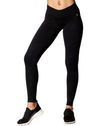 Nux V Ankle Pants - Black