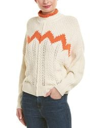 Isabel Marant Knit Wool-blend Pullover - Multicolour