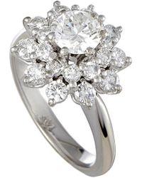 Heritage Platinum 1.69 Ct. Tw. Diamond Ring - Metallic