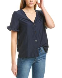Vero Moda Aware By Hero Top - Blue