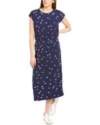 Joules Alma Midi Dress - Blue