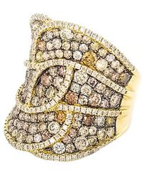 Diana M. Jewels - . Fine Jewelry 18k 4.05 Ct. Tw. Diamond Ring - Lyst