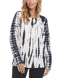 Karen Kane Tie Dye Sweatshirt - Multicolour