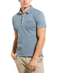 Billy Reid Pensacola Polo - Blue