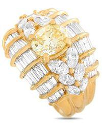 Heritage 18k 3.27 Ct. Tw. Diamond Ring - Metallic