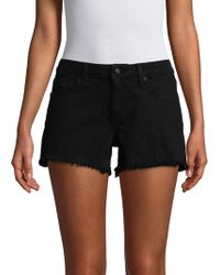 Derek Lam | Quinn Girlfriend Cotton Shorts | Lyst