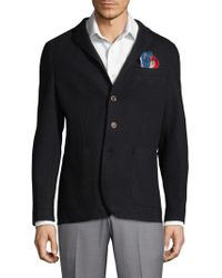 AT.P.CO   Solid Pocket Sportcoat   Lyst