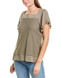 Vince Camuto Layered Top - Multicolour