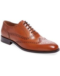 Gordon Rush - Leather Wingtip Oxford - Lyst
