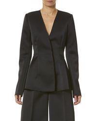 Carolina Herrera Fitted Jacket - Black