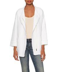 Soft Joie Emanuelle Cotton Jacket - White