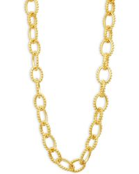 Freida Rothman - Textured Heavy Link Necklace - Lyst