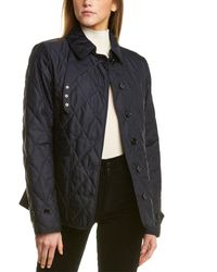 Burberry Fernleigh Quilted Thermoregulated Jacket - Blue