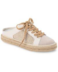 Dolce Vita Lian Leather Sneaker - White