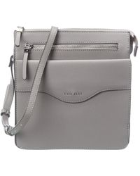 Fiorelli Blake Leather Crossbody - Grey