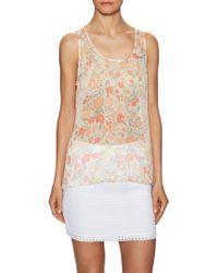 Jack BB Dakota Lennie Printed Sleeveless Top - Multicolour
