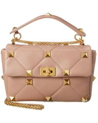 Valentino Garavani Rockstud Leather Shoulder Bag - Multicolour