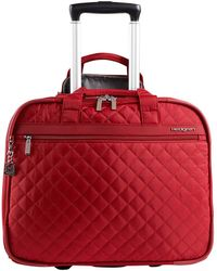 Hedgren Diamond Touch Cindy Rolling 15.6in Laptop Bag - Red