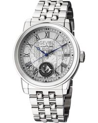 Gevril Watches - Washington Silver-tone Watch, 47mm - Lyst