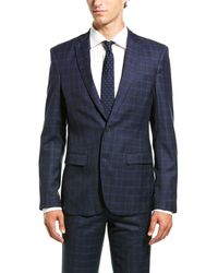 Aspetto 2pc Suit With Flat Pant - Blue