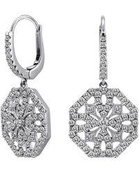 Nephora - 14k 1.40 Ct. Tw. Diamond Drop Earrings - Lyst