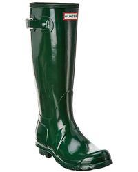 HUNTER - Women's Original Tall Gloss Rain Boots - Lyst