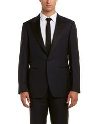 Canali Wool Suit - Blue