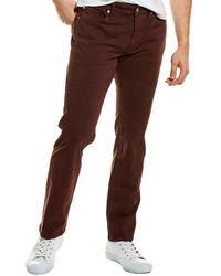 Joe's Jeans The Brixton Mccowan Pinot Straight & Narrow Jean - Brown