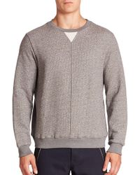 Timo Weiland - Jeff Textured Pintuck Pullover - Lyst