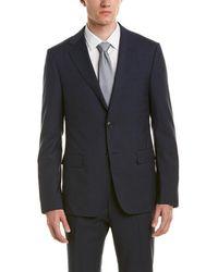 Ermenegildo Zegna - Z Wool Suit With Flat Front Pant - Lyst