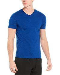 Rhone Element V-neck T-shirt - Blue