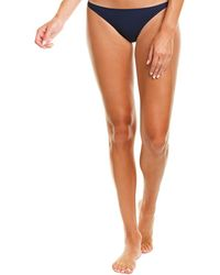 Tory Burch Low-rise Hipster Bottom - Blue