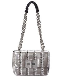 Tom Ford Natalia Disco Small Quilted Crystal Shoulder Bag - Metallic