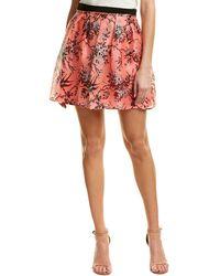 Nanette Lepore Silk Skirt - Pink