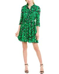 Ba&sh Erine Mini Dress - Green