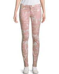 Robin's Jean Tie Dyed Jeans - Pink