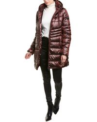 Sam Edelman Quilted Puffer Down Coat - Black