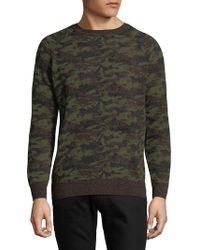 Slate & Stone - Camouflage Jumper - Lyst