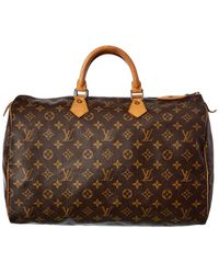 Louis Vuitton Monogram Canvas Speedy 40 - Brown