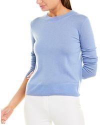 Vince Lightweight Wool-blend Pullover - Blue