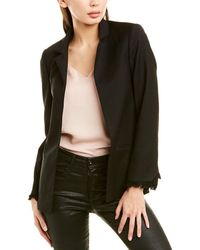 Zadig & Voltaire Volly Wool-blend Blazer - Black