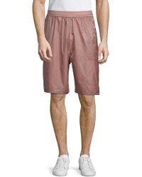 Diesel Black Gold Pantastic Pull-on Shorts - Pink