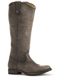 Frye Melissa Lug Leather Tall Boot - Multicolor